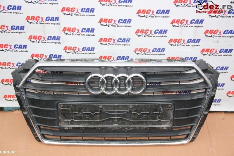 Grila radiator Audi A4 2016