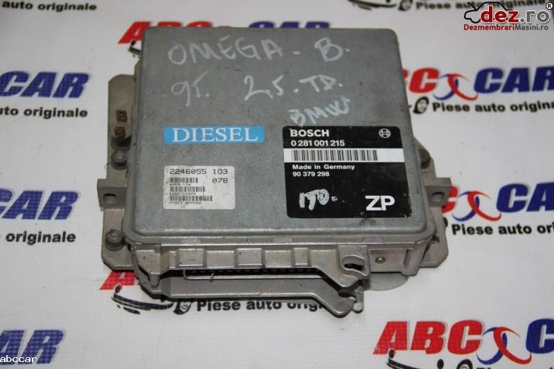 Calculator motor Opel Omega 2001 cod 0281001215 Piese auto în Alesd, Bihor Dezmembrari