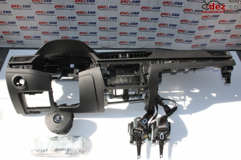 Kit Plansa Bord Skoda Superb 3 Model 2018 Originala Din Dezmembrari Auto   Import Dezmembrări auto în Alesd, Bihor Dezmembrari