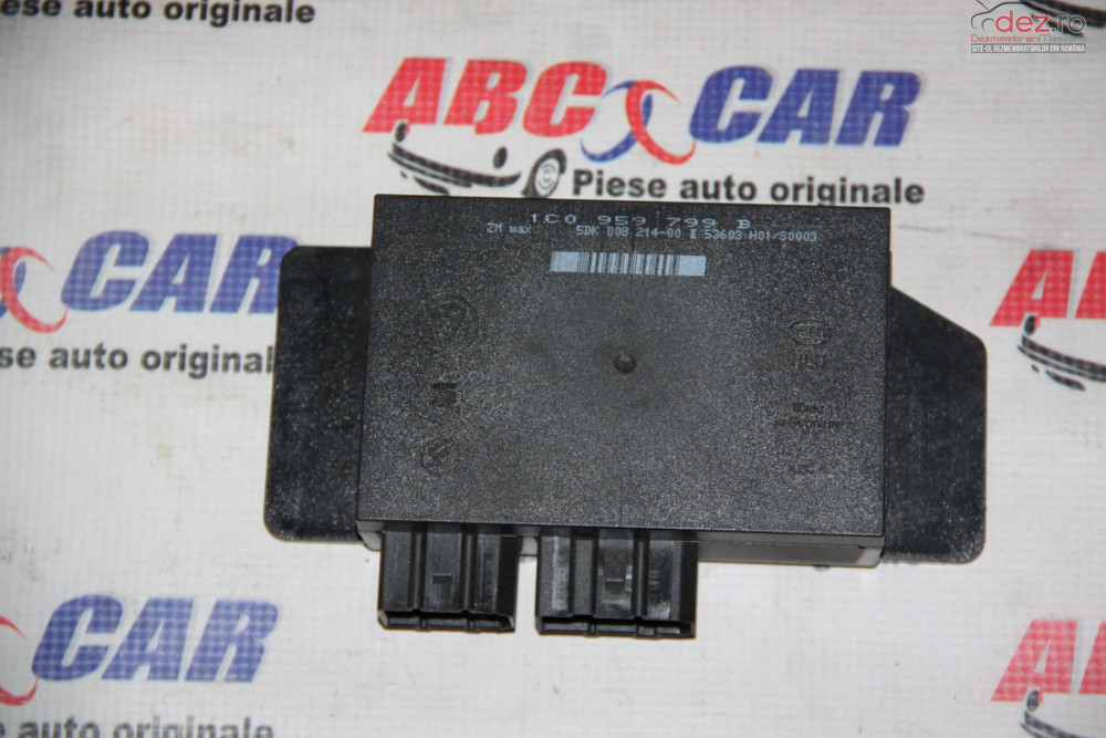Calculator Confort Vw Bora 2000 2005 Cod 1c0959799b cod 1C0959799B Piese auto în Alesd, Bihor Dezmembrari