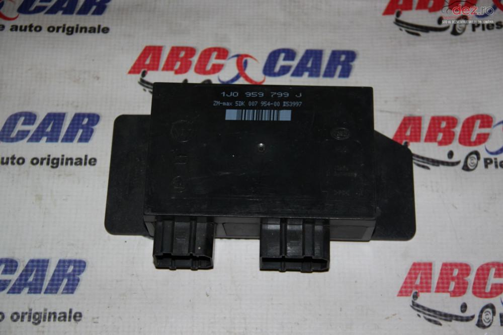 Calculator Confort Vw Bora 1999 2005 Cod 1j0959799j cod 1J0959799J Piese auto în Alesd, Bihor Dezmembrari
