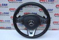 Volan Din Piele Cu Comenzi Si Padele Mercedes A Class W176 cod A0014609503 Piese auto în Alesd, Bihor Dezmembrari