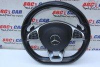 Volan Din Piele Cu Comenzi Si Padele Mercedes Glc Class X253 Piese auto în Alesd, Bihor Dezmembrari