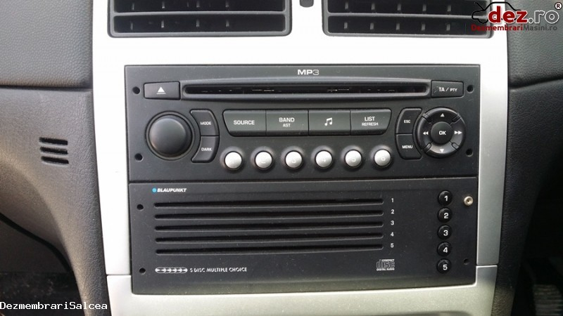 Sistem audio Peugeot 307 2005 în Suceava, Suceava Dezmembrari