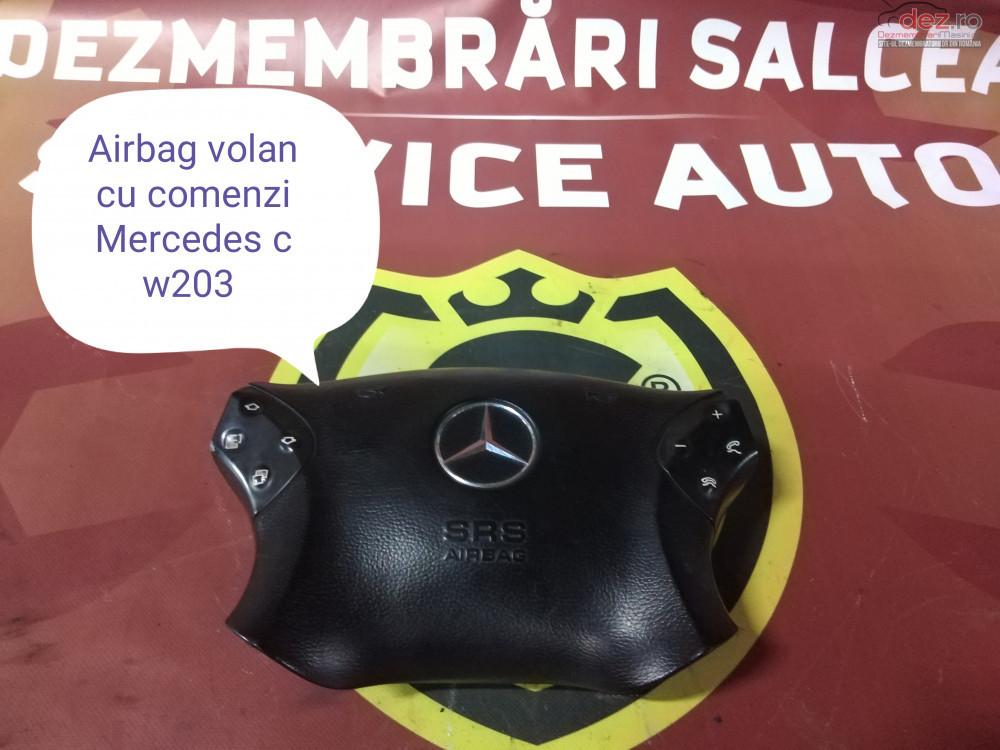 Airbag Volan Cu Comenzi Mercedes C Class W203 cod oem în Suceava, Suceava Dezmembrari
