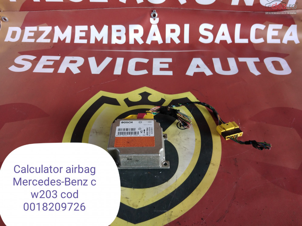 Calculator Airbag Mercedes C Class W203 Cod 0018209726 în Suceava, Suceava Dezmembrari