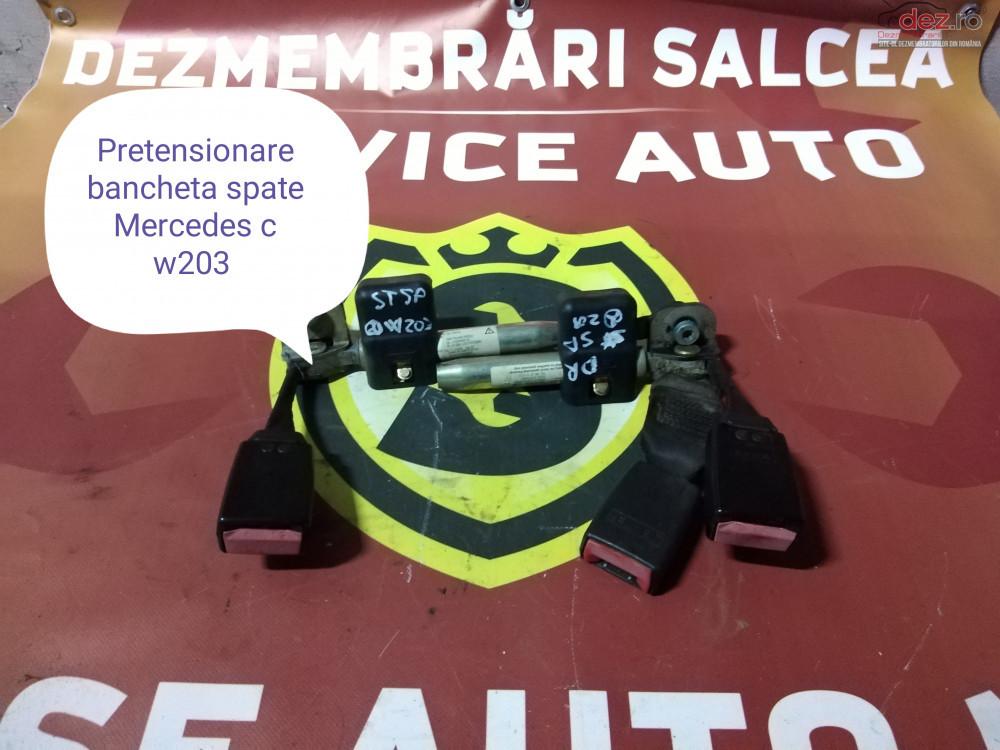 Pretensionatoare Centuri Siguranta Spate Mercedes C Class W 203 cod oem în Suceava, Suceava Dezmembrari