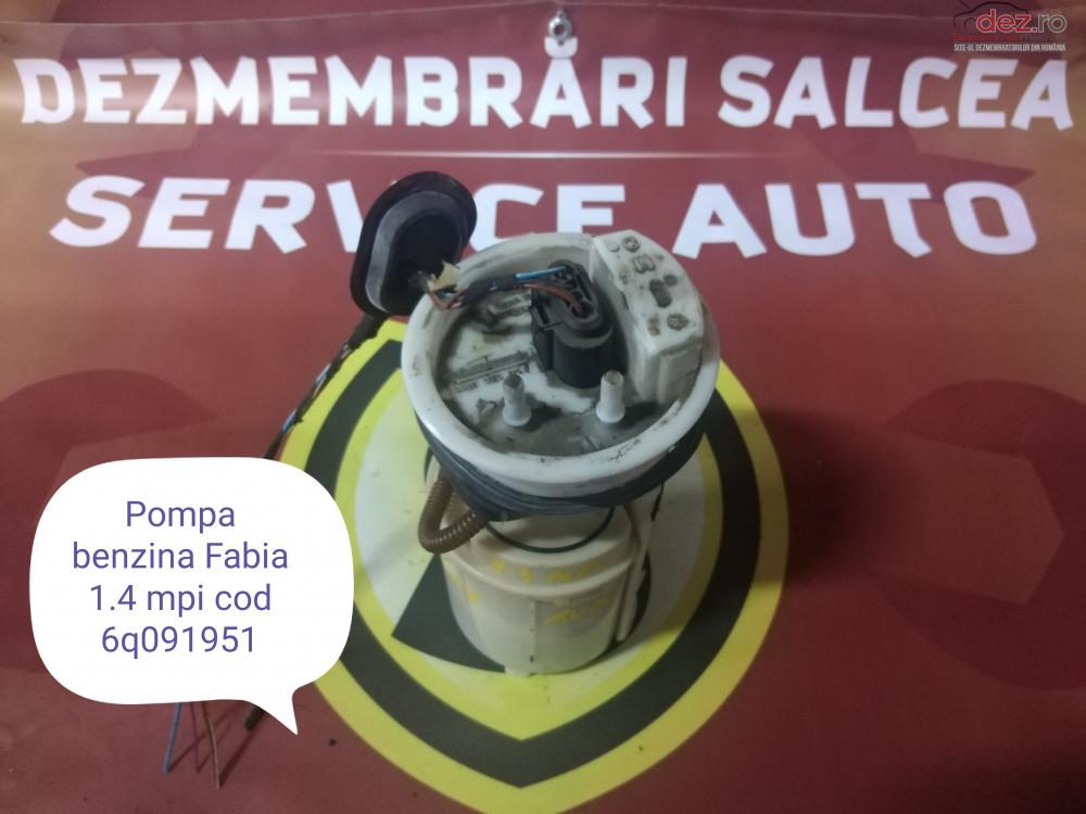Pompa Benzina Skoda Fabia Cod 6q091951 cod oem în Suceava, Suceava Dezmembrari