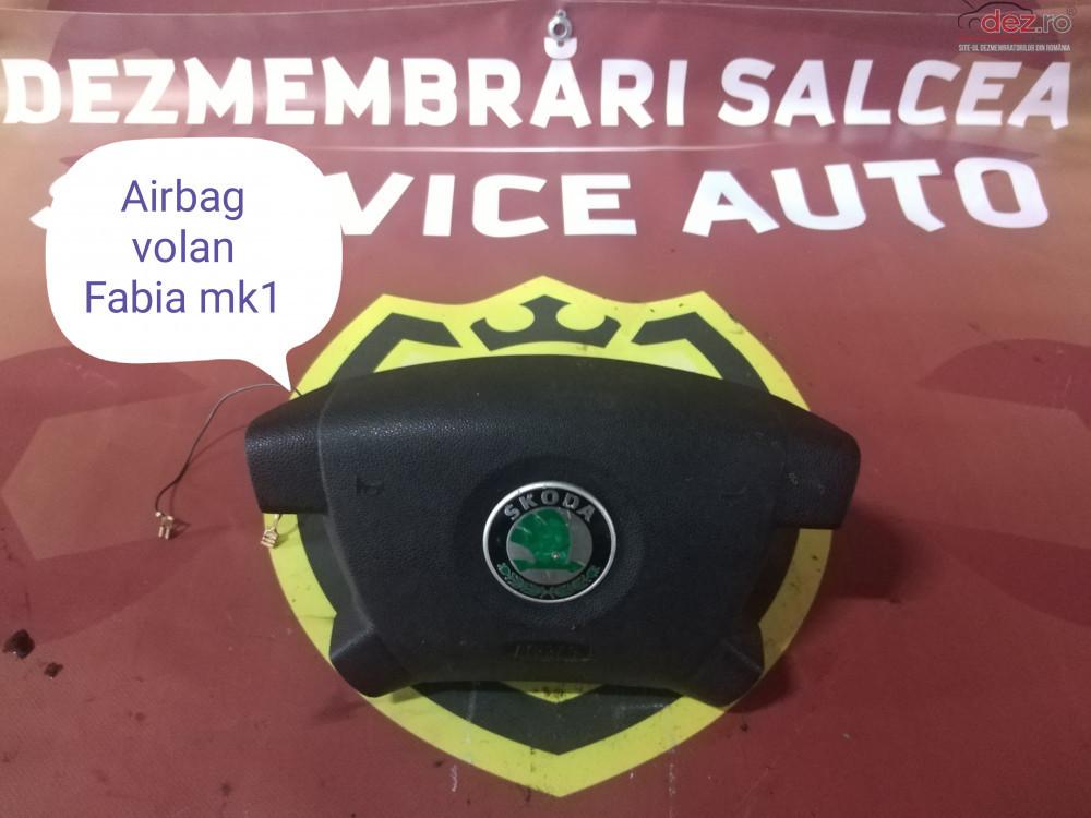 Airbag Volan Skoda Fabia 2003 cod oem în Suceava, Suceava Dezmembrari