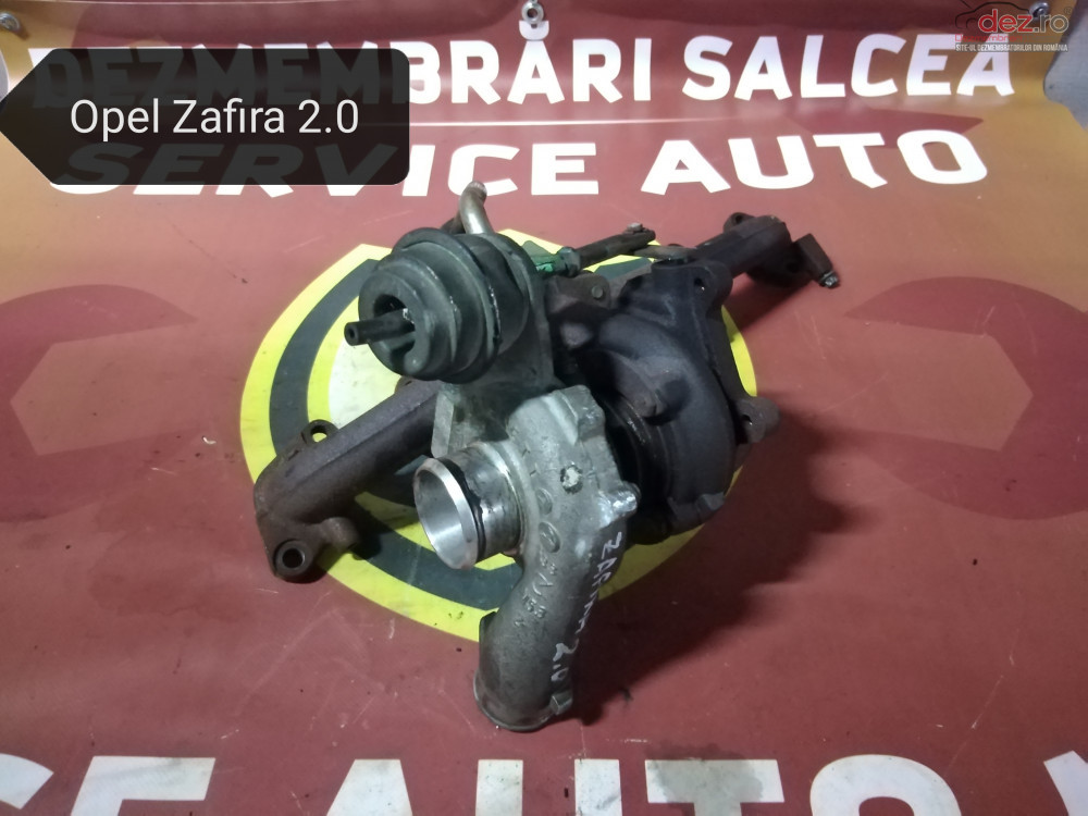 Turbo / Turbina Opel Zafira 2 0 Dth In Stare Perfecta cod oem Piese auto în Suceava, Suceava Dezmembrari