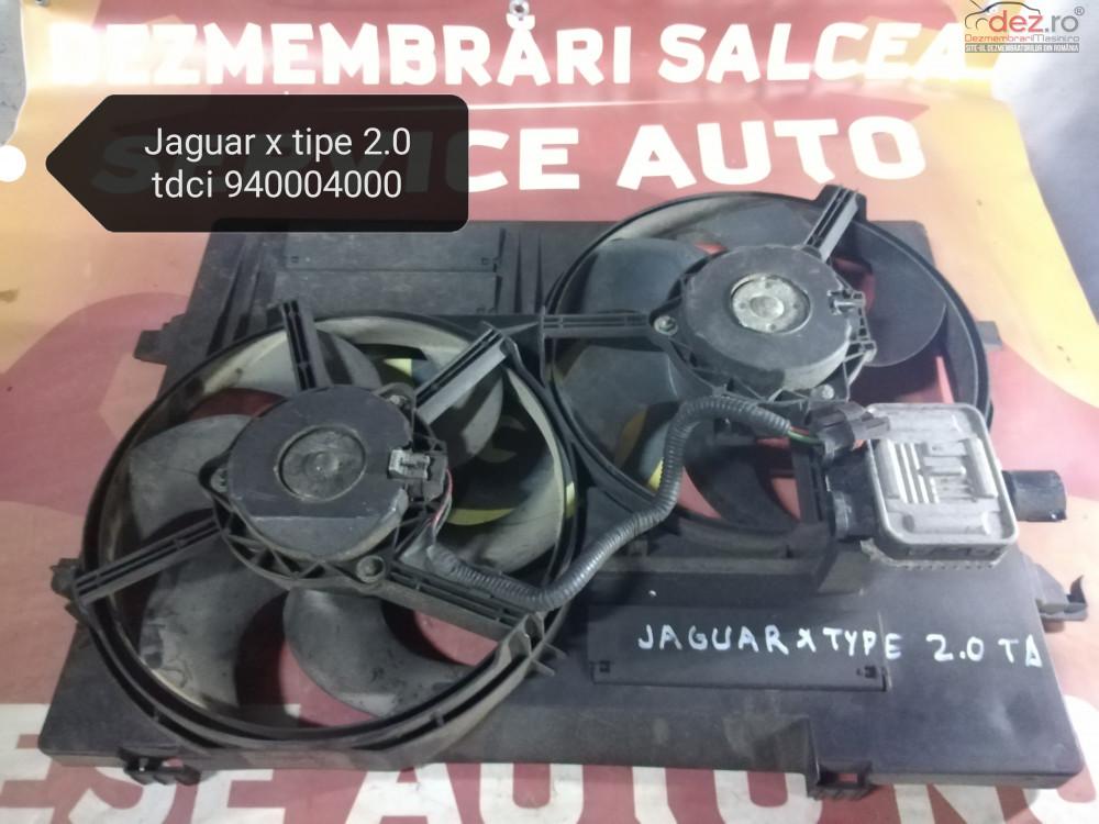 Electroventilator/ventilator Racire/gmv Jaguar X Type 2 0 940004000 cod oem Piese auto în Suceava, Suceava Dezmembrari