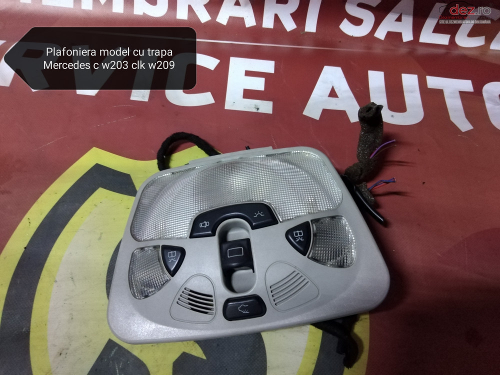 Plafoniera Cu Comanda Pentru Trapa Mercedes Clk W209 Piese auto în Suceava, Suceava Dezmembrari