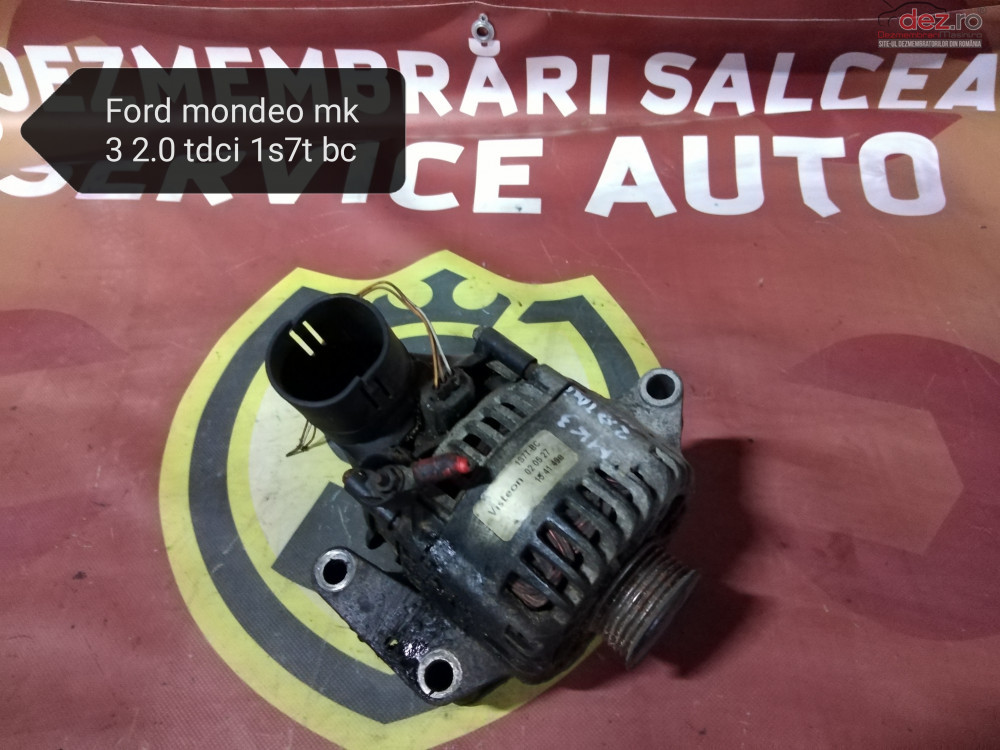 Alternator Ford Mondeo Mk3 2 0 Tdci 1s7tbc cod oem Piese auto în Suceava, Suceava Dezmembrari