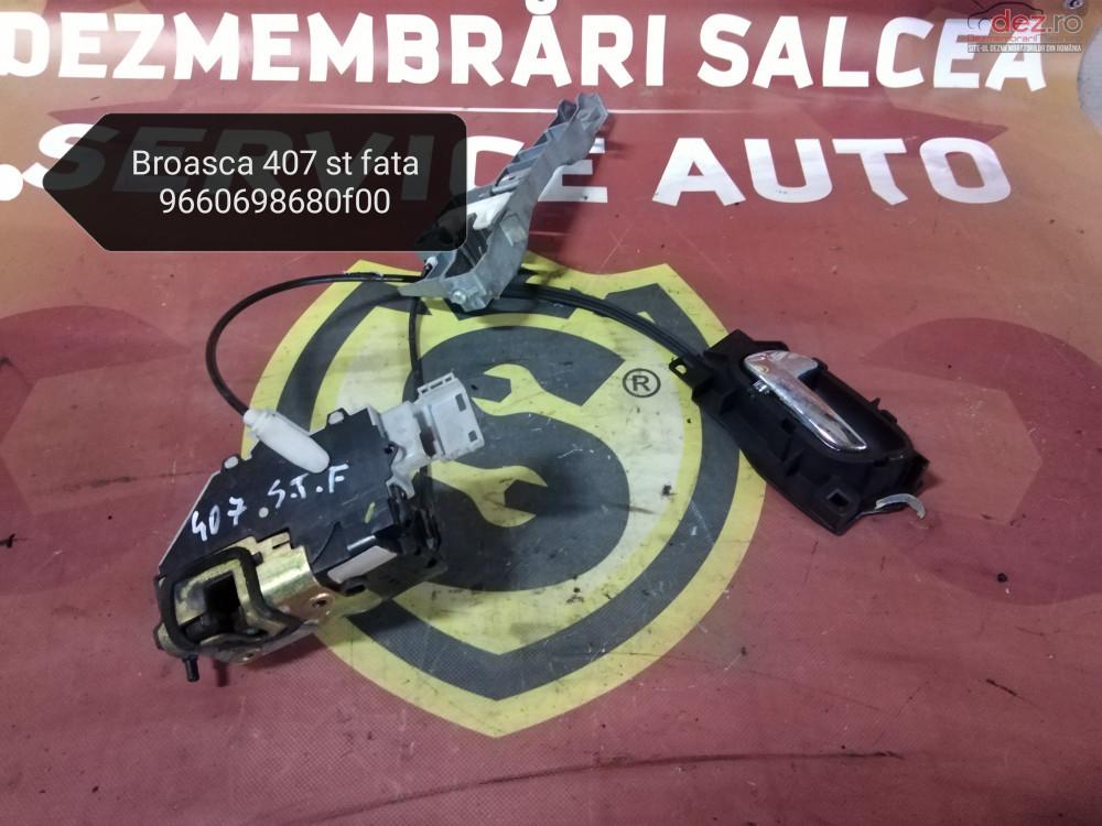 Broasca Usa/portiera Stanga Fata Peugeot 407 Cod 9660698680f00 cod oem Piese auto în Suceava, Suceava Dezmembrari