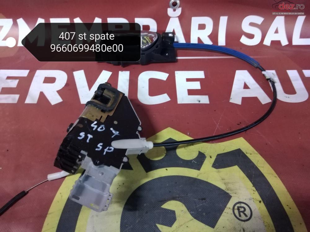 Broasca Usa / Portiera Stanga Spate Peugeot 407 cod oem Piese auto în Suceava, Suceava Dezmembrari