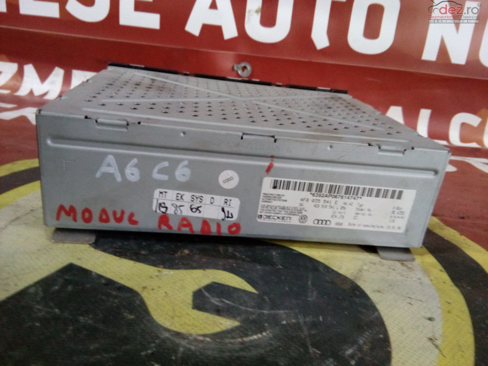 Modul Radio 4f0035f1e Audi 6 C6 cod oem Piese auto în Suceava, Suceava Dezmembrari