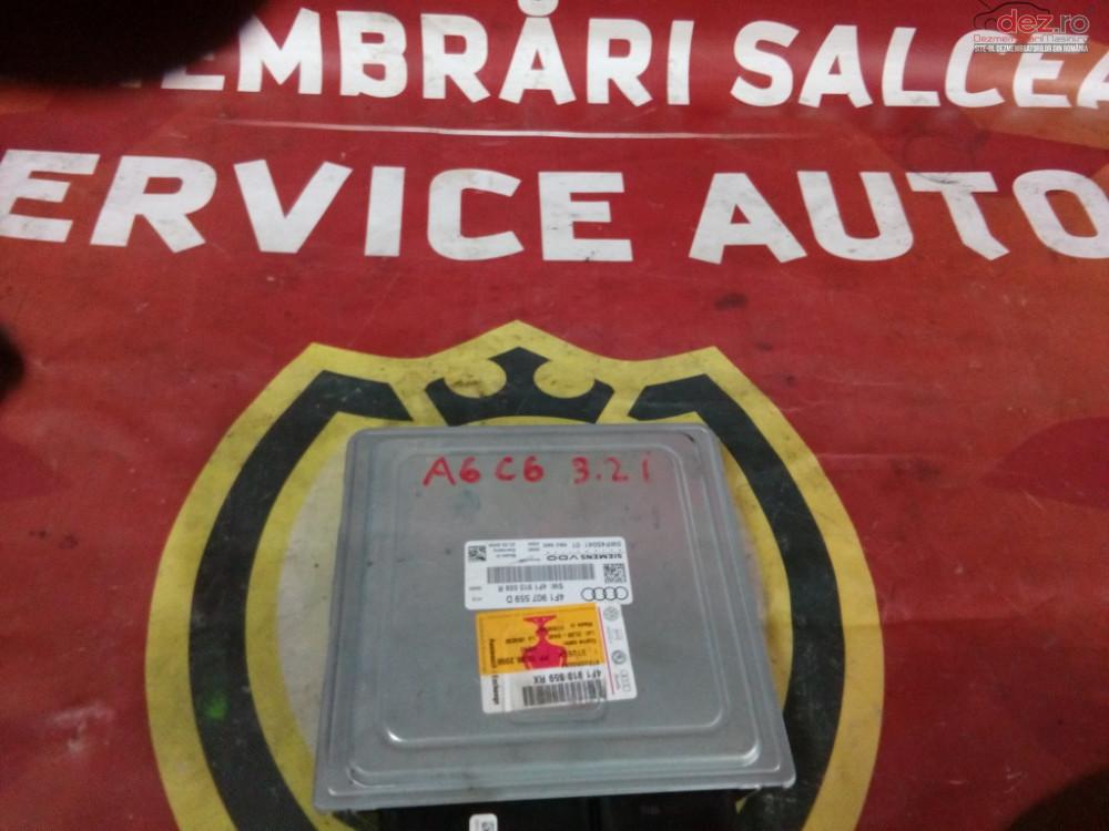 Calculator Motor 4f1907559d Audi A6c6 3 2i cod oem Piese auto în Suceava, Suceava Dezmembrari