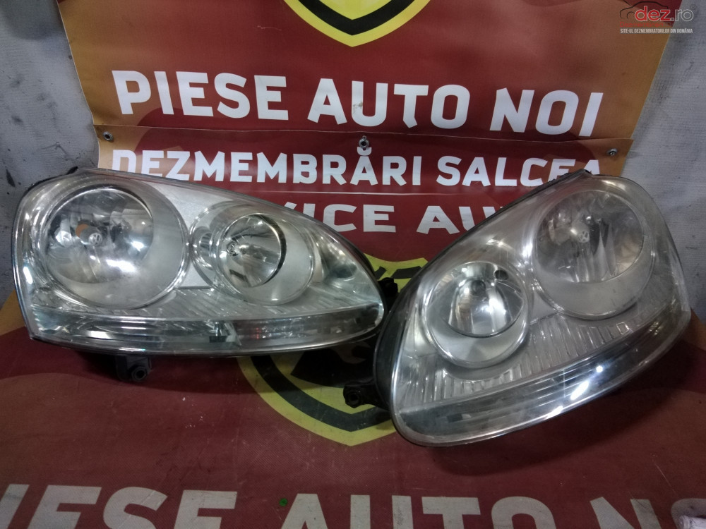Far / Faruri Stanga / Dreapta Vw Golf 5 cod oem Piese auto în Suceava, Suceava Dezmembrari