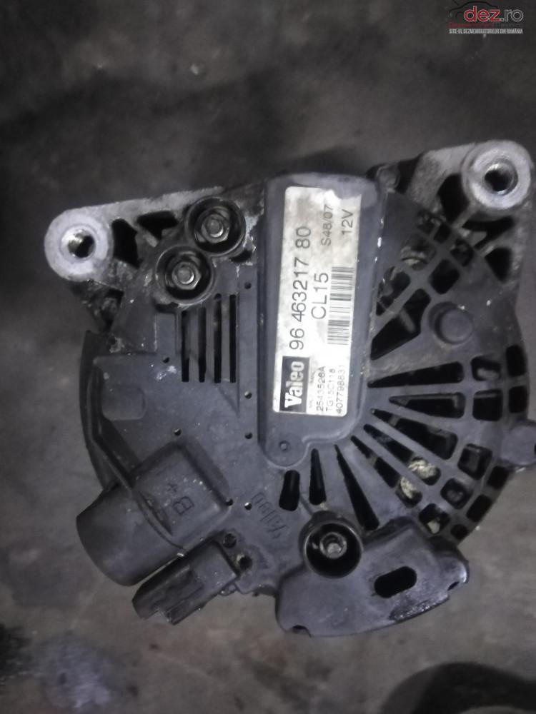 Alternator Peugeot 307 1 6hdi 109 Cp Compatibil Citroen /ford cod oem în Suceava, Suceava Dezmembrari