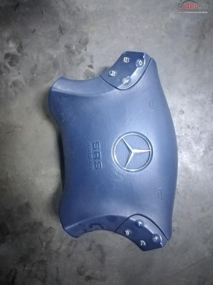 Airbag Volan Pe Albastru Mercedes C Class W203 Piese auto în Suceava, Suceava Dezmembrari