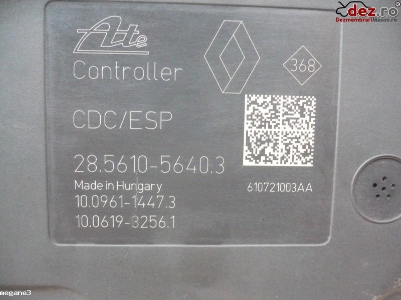 Pompa ABS Renault Megane 3 2011 cod 476601563R