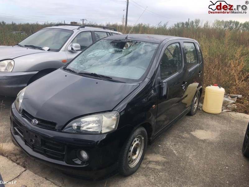 Dezmembrez Daihatsu Yrv 1 3(m201) 64 Kw An 2001 Cod Motor K3 Ve Dezmembrări auto în Arad, Arad Dezmembrari