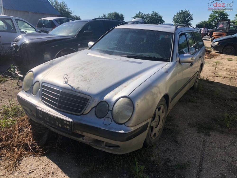 Dezmembrez Mercedes E 200 2 0 Benzina 120 Kw An 2000 Dezmembrări auto în Arad, Arad Dezmembrari