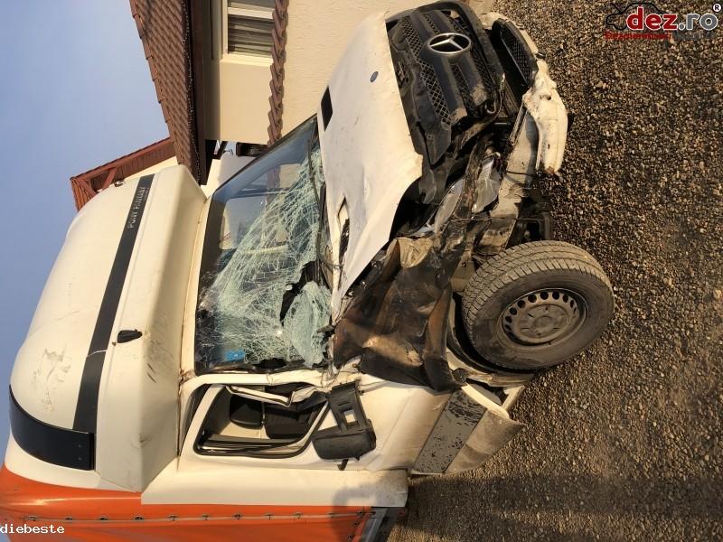 Mercedes Sprinter Prelata 8ep 313cdi Euro5/2011 Avariat  Mașini avariate în Cluj-Napoca, Cluj Dezmembrari