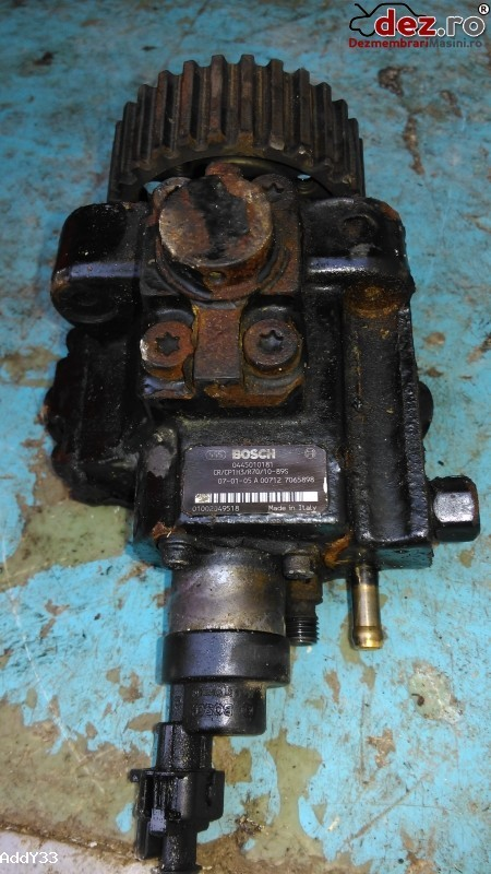 Pompa inalta presiune Fiat Ducato 2.3multjet 2007 cod 0445010181 Piese auto în Fantana Mare, Suceava Dezmembrari