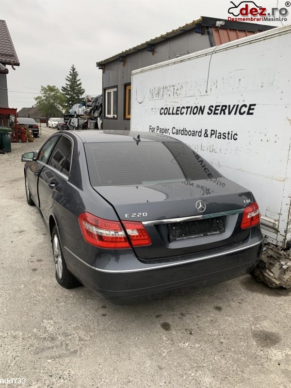 Dezmembrez Mercedes E  Class W212/s212 2011 2 2 Cdi (volan Normal)  Dezmembrări auto în Fantana Mare, Suceava Dezmembrari