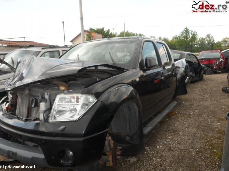 Dezmembrez Nissan Navara 2005 - 2015 Duble Cab