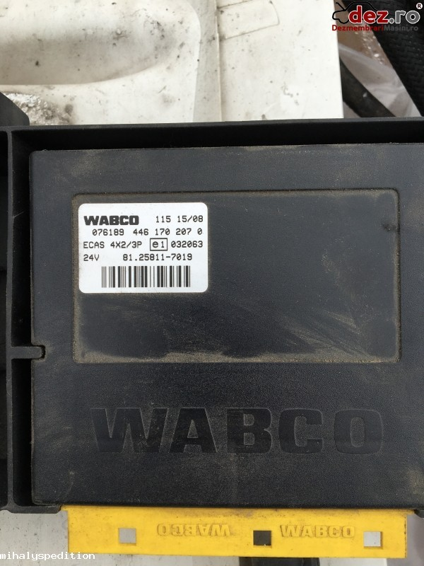Vand calculatoare MAN -FFR; ECAS; ZBR Dezmembrări camioane în Otopeni, Ilfov Dezmembrari