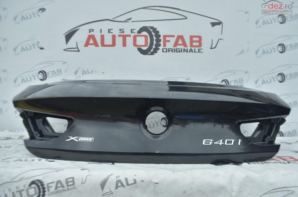 Capota Portbagaj Bmw Seria 6 F06 Gran Coupe2011 2018 cod 8EY6OVWKBH Piese auto în Arad, Arad Dezmembrari