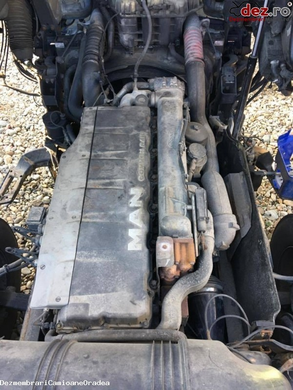 Motor MAN TGA d2066 lf36  Dezmembrări camioane în Oradea, Bihor Dezmembrari