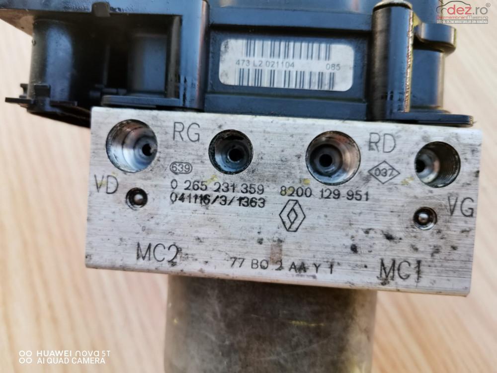 Pompa Abs Renault Modus 8200 129 951 Cod 8200 129 951 Piese auto în Bucuresti, Bucuresti Dezmembrari
