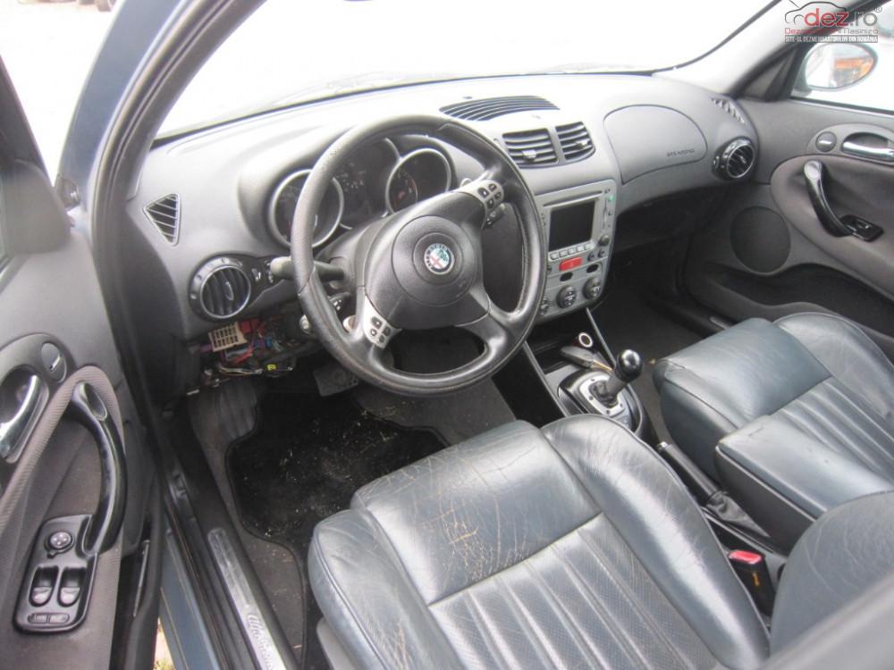 Dezmembrez Alfa Romeo 147 2001 Hatchback 2 0 I Dezmembrări auto în Rosiori, Bihor Dezmembrari