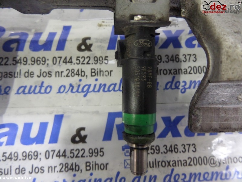 Injector Ford Focus 2005 cod 98mf-bb