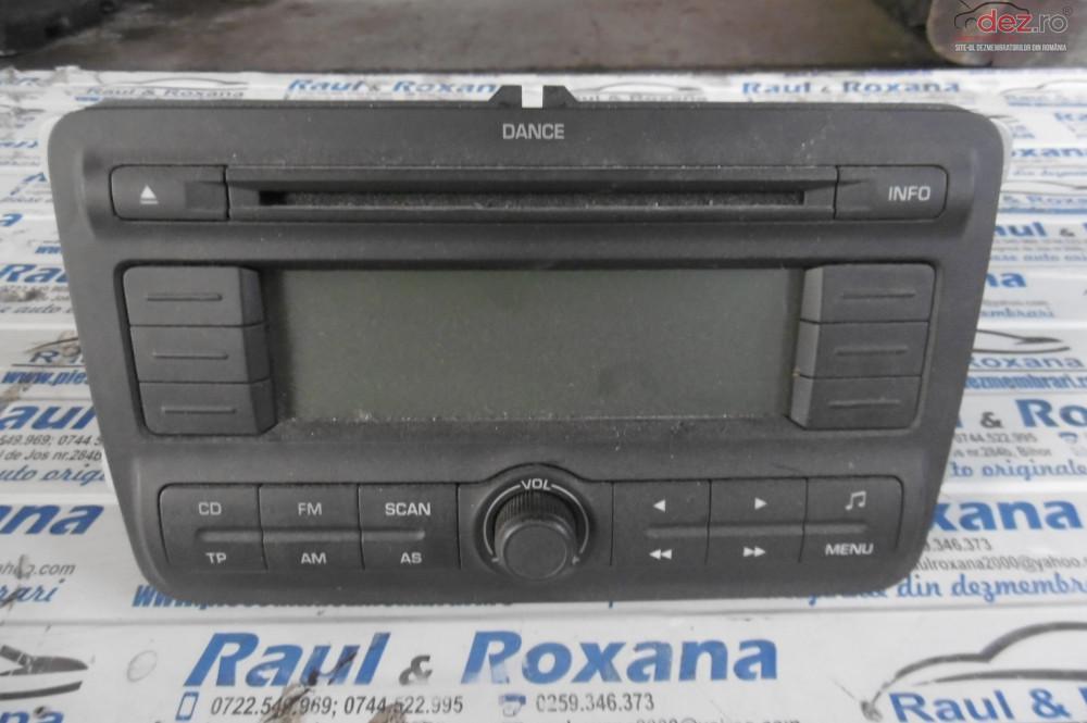 Cd Audio Skoda Fabia 2 1 2b  cod 5j0035161a Piese auto în Lugasu de Jos, Bihor Dezmembrari
