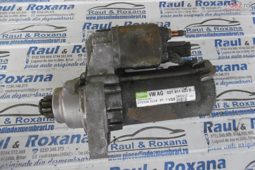 Electromotor Skoda Fabia 2 1 2b  cod 02t911023s Piese auto în Lugasu de Jos, Bihor Dezmembrari