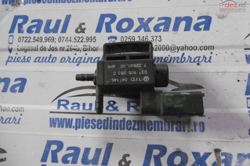 Supapa Vacum Audi A4 2 0tdi  cod 1j0906283c Piese auto în Lugasu de Jos, Bihor Dezmembrari
