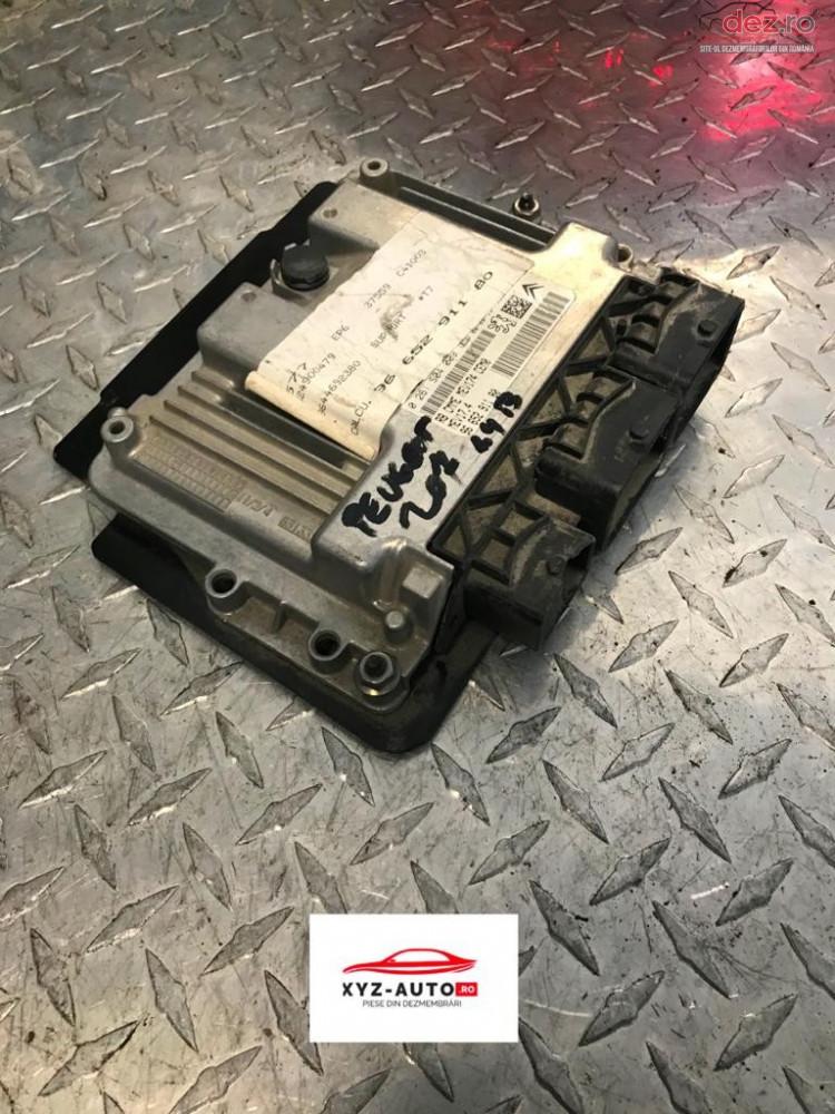 Calculator Motor Peugeot 207 1 4 B cod 9665291180 Piese auto în Oradea, Bihor Dezmembrari