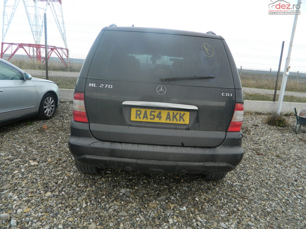 Dezmembrez Mercedes Ml 2 7 Dezmembrări auto în Falticeni, Suceava Dezmembrari