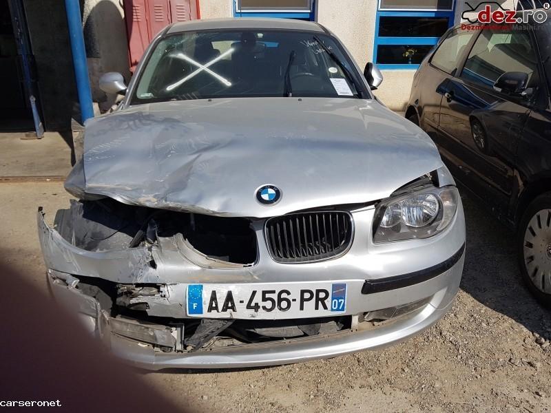 Vand Bmw 116d E87 2009 Avariat Import Franta   Mașini avariate în Nicolae Balcescu, Bacau Dezmembrari