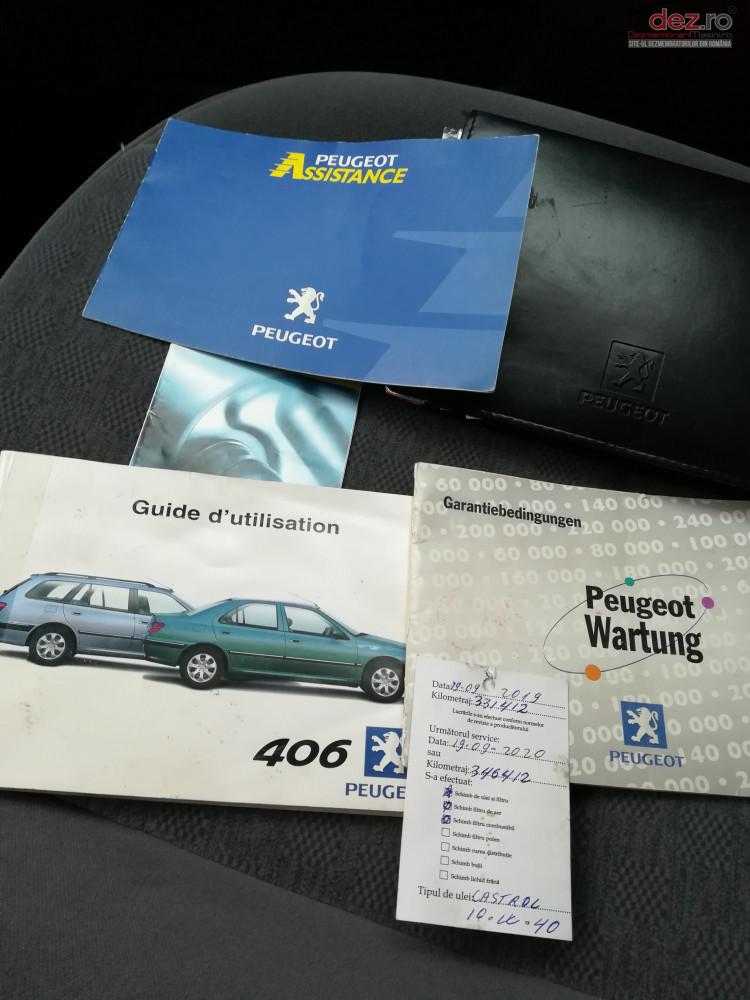 Dezmembrez Peugeot 406   An Fabricatie 2001   Dezmembrări auto în Tirgu Mures, Mures Dezmembrari