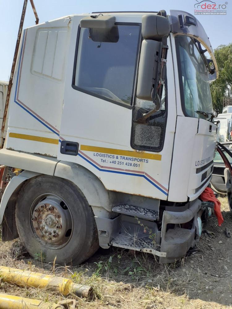 Vand Usi Capote Scari Aripi De Camion Iveco Eurotech 340 Cp Din 1998 Dezmembrări camioane în Craiova, Dolj Dezmembrari