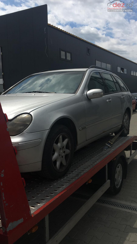 Dezmembram Mercedes Benz C 220 Cdi An Fabr 2003 Dezmembrări auto în Stalpu, Buzau Dezmembrari