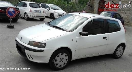 Dezmembrez Fiat Punto 2001 Alb 1 2 Benzina 8 Valve In 3 Usi în Bacau, Bacau Dezmembrari