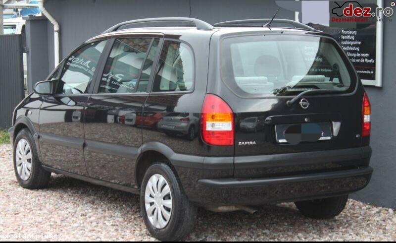 Dezmembrari Opel Zafira A Negru Z298 Din 2001 Diesel în Bacau, Bacau Dezmembrari