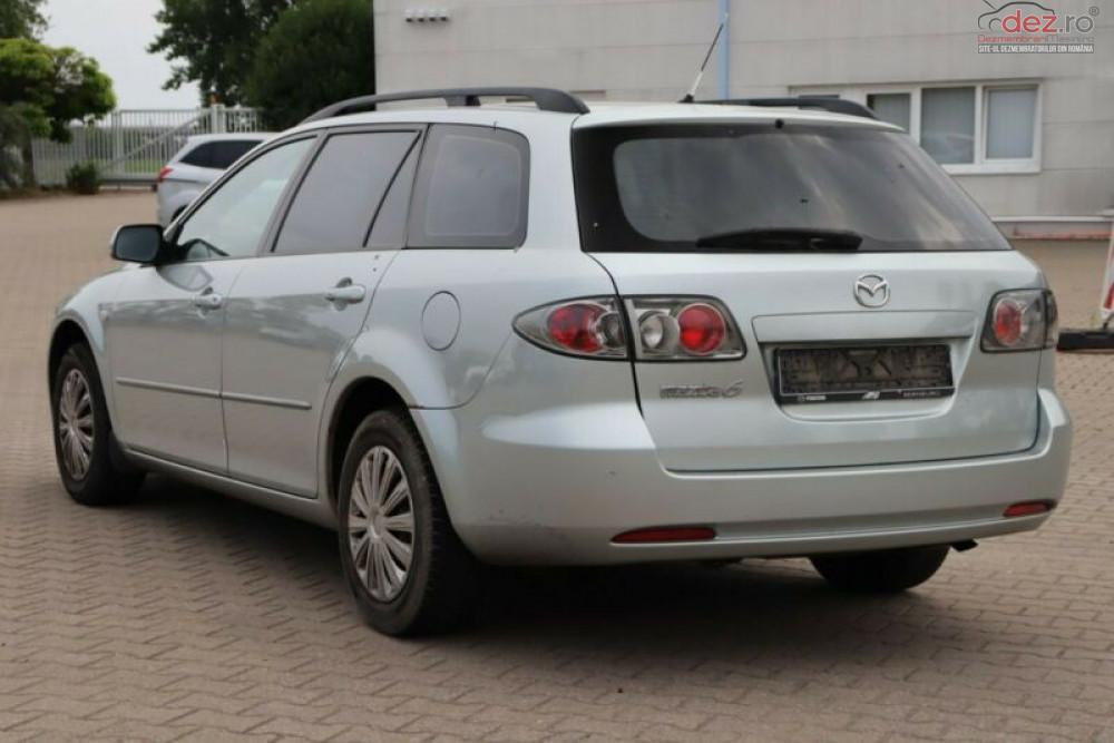 Vand Mazda 6 brek din 2003, avariat in lateral(e) Mașini avariate în Bacau, Bacau Dezmembrari