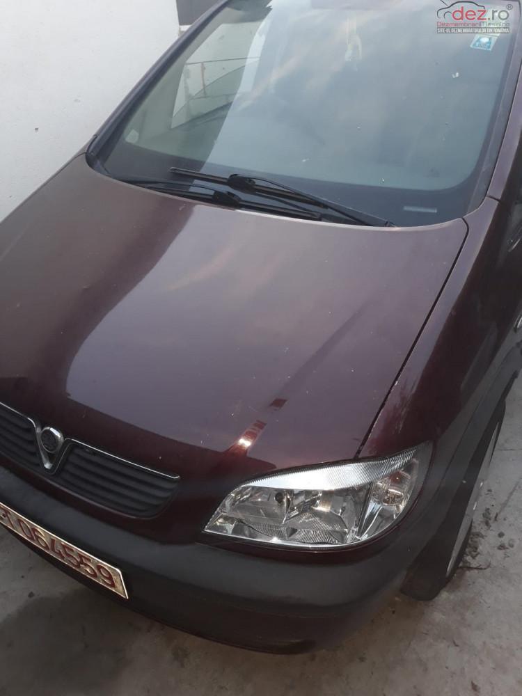 Dezmembrez Opel Zafira A Benzina 1 6 An 2001